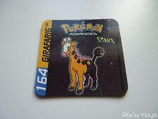 Magnet Staks Pokémon Advanced / 164 Girafarig / Panini 2003 [ Neuf ]