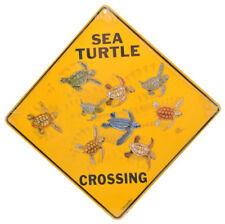 NEW Sea Turtle Crossing Road Sign
