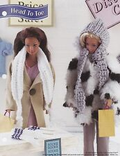 Head to Toe, Annie's Attic Crochet Fashion Doll Clothes Pattern Leaflet FC32-04