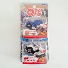 TAKARA TOMY TOMICA Choro Q Transformers Movie Optimus Prime & Prowl - Hot Pick