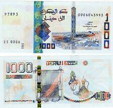 Algeria Algerie Billet 1000 DINARS 2018 - 2019 NOUVEAU NEW NEUF UNC