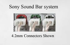 3X 10ft 4.2mm speaker cables/wire made for Sony Sound Bar HT-CT150/CT350/CT500