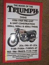 TRIUMPH 3TA T90 5T 5TA T100 T100A S/S 6T TR5 TR6 TR6S/S T110 T120 MANUAL 1956-69