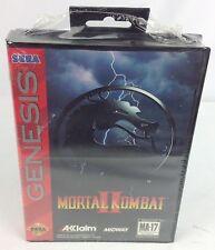 Mortal Kombat II 2 ~ Sega Genesis, 1994 ~ FACTORY SEALED ~ RARE