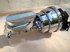 """1962-1974 MOPAR Dodge Plymouth A, B, & E Body 8"""" Dual Chrome Power Brake Unit"""