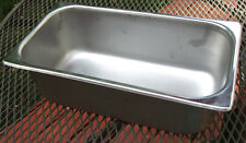 "Steam Table Pan - Size: 1/3 Depth: 4"" - Nsf"