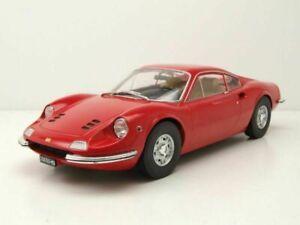 Ferrari Dino 246 GT rot 1969 - 1:18 MCG