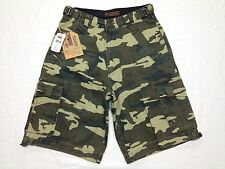 RRJ FUNCTIONAL SYSTEM 7 POCKET GREEN CAMO CARGO SHORTS 29W NWT BEST SH135
