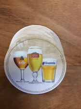 Stella Artois Leffe Hoegaarden Best of Belgium Coasters ~ 25 Pack ~ NEW & F/S