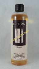 ESTEBAN Ricarica 250ml x diffusore bacchette profumo casa ambienti CEDRE cedro