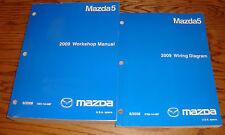 Original 2009 Mazda Mazda5 5 Shop Service Manual + Wiring Diagram Set 09