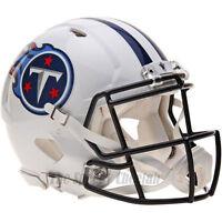 TENNESSEE TITANS RIDDELL NFL FULL SIZE AUTHENTIC SPEED FOOTBALL HELMET