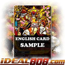 Buddyfight x 4 The Ideal Invincible Dragon, Bal Dragon [X-BT02/0022EN R] English