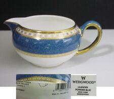 Wedgwood ULANDER Powder Blue Creamer Made in England - NEW w/ Tags!