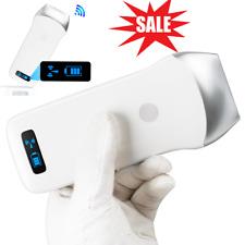 Portable Wifi Wireless Ultrasound Scanner Machine Linear Array Probe 75mhz Usa