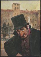 AA9643 Centenario della nascita di Edoardo Ferravilla - Cartolina pubblicitaria