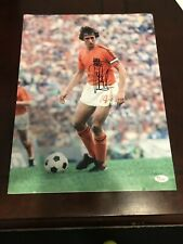 Johan Cruyff Signed Autographed Holland Barcelona Ajax 16x12 Photo Coa Jsa