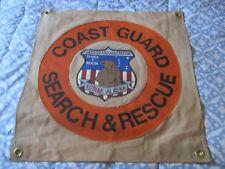 Modern Uscg Coast Guard Air Station Kodiak Squadron Ready Room Bar Wall Flag