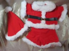 Build-A-Bear Workshop ~ Santa Claus Outfit ~ Shirt, Pants & Hat ~ Outfit Only