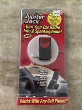 Jupiter Jack Cell Phone HANDS FREE Car Speakerphone Converter 6-NEW Adapter Kit