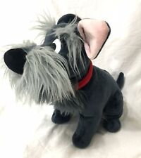 Disney Store Jock Stuffed Plush Lady and the Tramp Scottish Terrier Stamped RARE