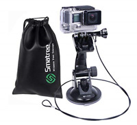Suction Cup Car Mount for GoPro Hero7/6/5/4/3+/3/2/1 Camera Windshield Window