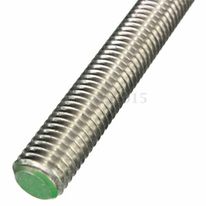 Stainless 304 threaded rod/bar/studding  -  many lengths and diameters