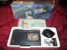 Sony ICF-SW800 Card Tuning Radio