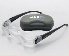 MaxTV Binocular Magnifier TV Screen glasses Magnifying Glass for Low Vision Aids