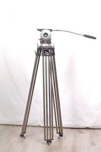 Tripod de campagne Sachtler  Tête de pied + branche pour  caméra 16mm