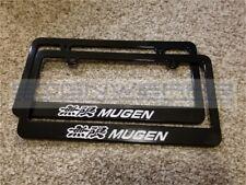 Honda Mugen Racing License Plate Frame Racing JDM Japan Vtec NSX Type R - Pair