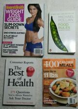 Book lot, health and fitness, paperback