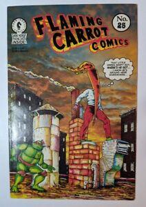 Flaming Carrot Comics #25 Dark Horse 1991 TMNT Teenage Mutant Ninja Turtles