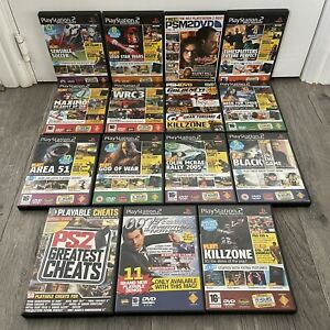 PlayStation 2 PS2 Official Magazine Early Playable Demo Disc Games Bundle