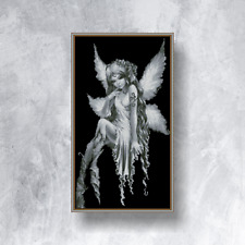 LOVELY ANGEL FAIRY - Counted cross stitch kit (with DMC threads)