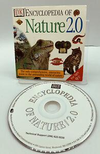 DK Encyclopedia of Nature 2.0 CD Rom Software 1995 Windows 95/98/XP MacIntosh 7