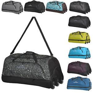 Reisetasche KEANU Rollentasche faltbar XXL Reisetrolley 100-135 L viele Designs