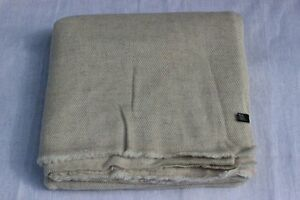 100% Pure Himalayan Pashmina Throw, Natural Cashmere Blanket, Hand Made in Nepal