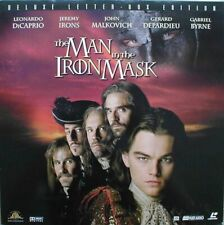 MAN IN THE IRON MASK WS AC3 CC N&S NTSC LASERDISC DICAPRIO-IRONS-MALKOVICH