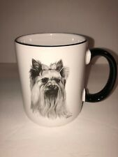 Yorkshire Terrier Coffee Cup Tea Mug Porcelain by Rosalinde