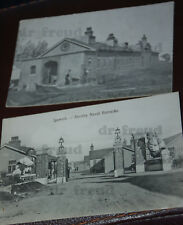 Old real photo postcards - SHOTLEY NAVAL BARRACKS, IPSWICH 1920s