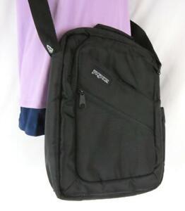JanSport Student Padded Laptop Backpack Black Zippered Pockets Adjustable Strap
