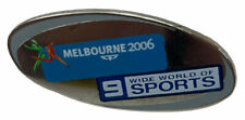 Melbourne 2006 Commonwealth Games 9 Wide world of sports Blue pin badge