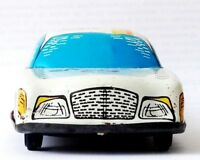 FOREIGN 60's Vintage HUNGARIAN TIN Litho Friction Push TOY CAR TAXI Cab 51 Auto