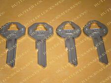 Pontiac GTO 4 Key Blanks 1964 1965 1966  OEM GM Logo Keys 2 SETS