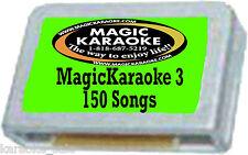 Brand New Magic Sing Karaoke Mic Poprock Chip Songlist