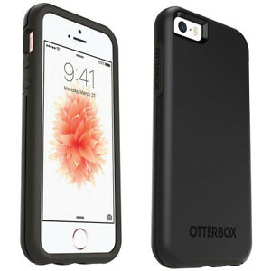 OtterBox Symmetry Series Drop Protection Case for iPhone SE 5 & 5S - Black