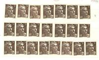 YVERT N° 716A x 22 MARIANNE DE GANDON TIMBRES FRANCE NEUFS sans CHARNIERES