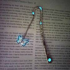 Luminous Bookmarks Creative Glow In The Dark Butterfly Bookmark Book Marker