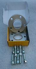 Se adapta a BMW 5x120 20 mm Hubcentric Separadores de Rueda Completo Con M12x1.5 tornillos más largos